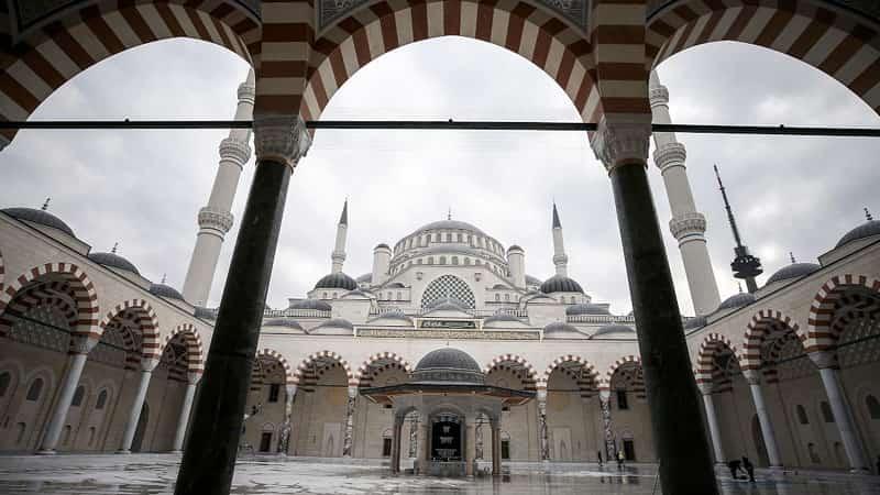 Çamlıca Camisi'nde İlk Ezan Yarın Sabah Okunacak