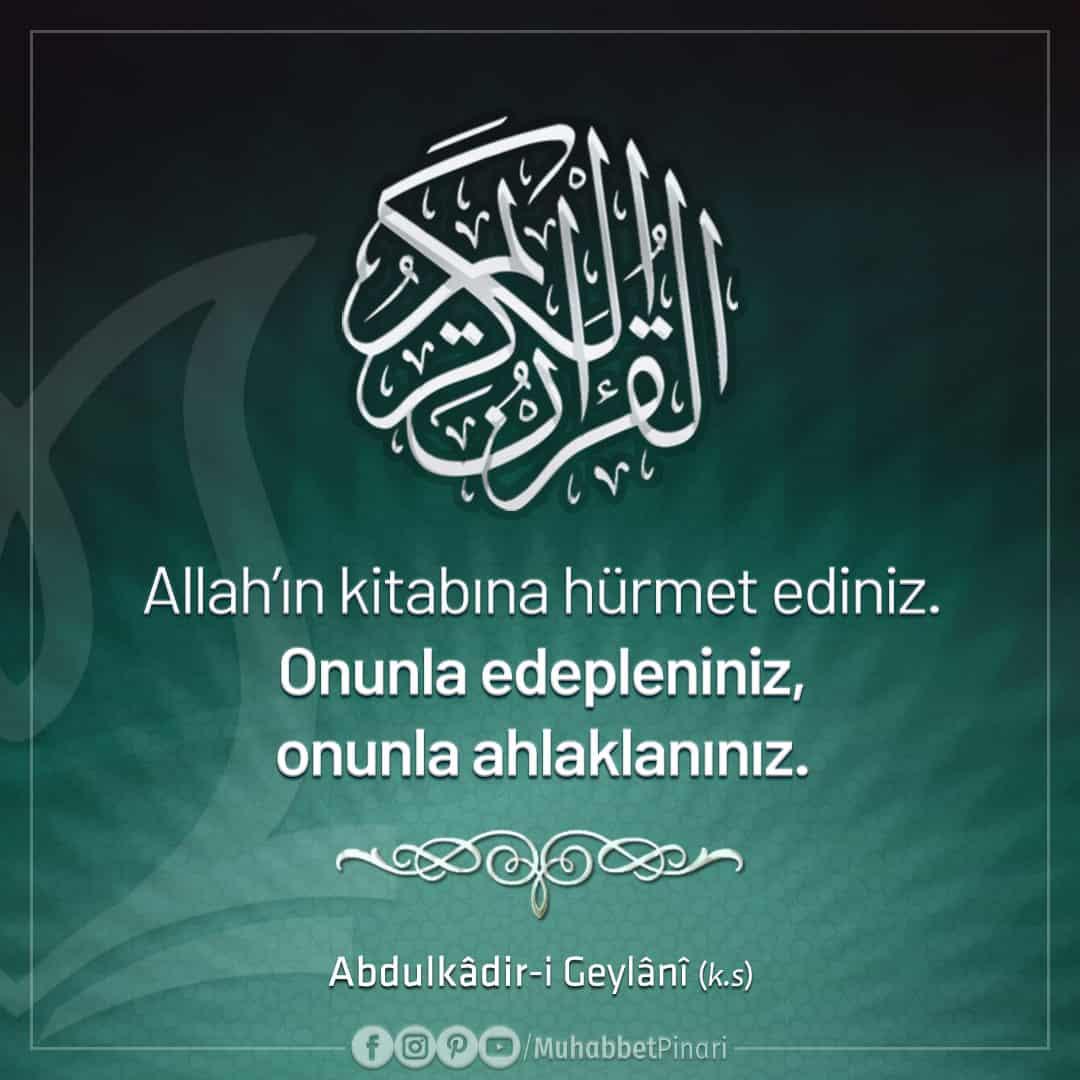 Abdulkadir Geylani Sözleri