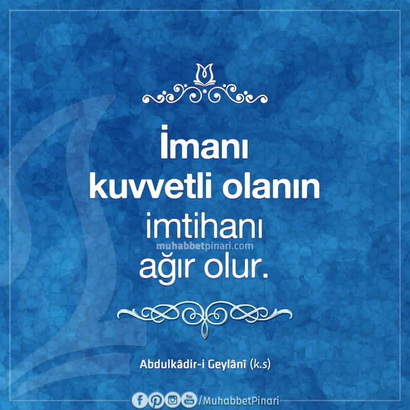 Seyyid Abdulkadir Geylani'den Hikmetli Sözler