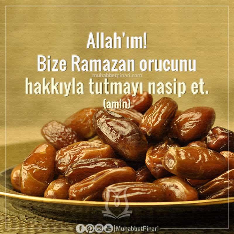 Ramazan-ı Şerif Ayına Özel Dualar