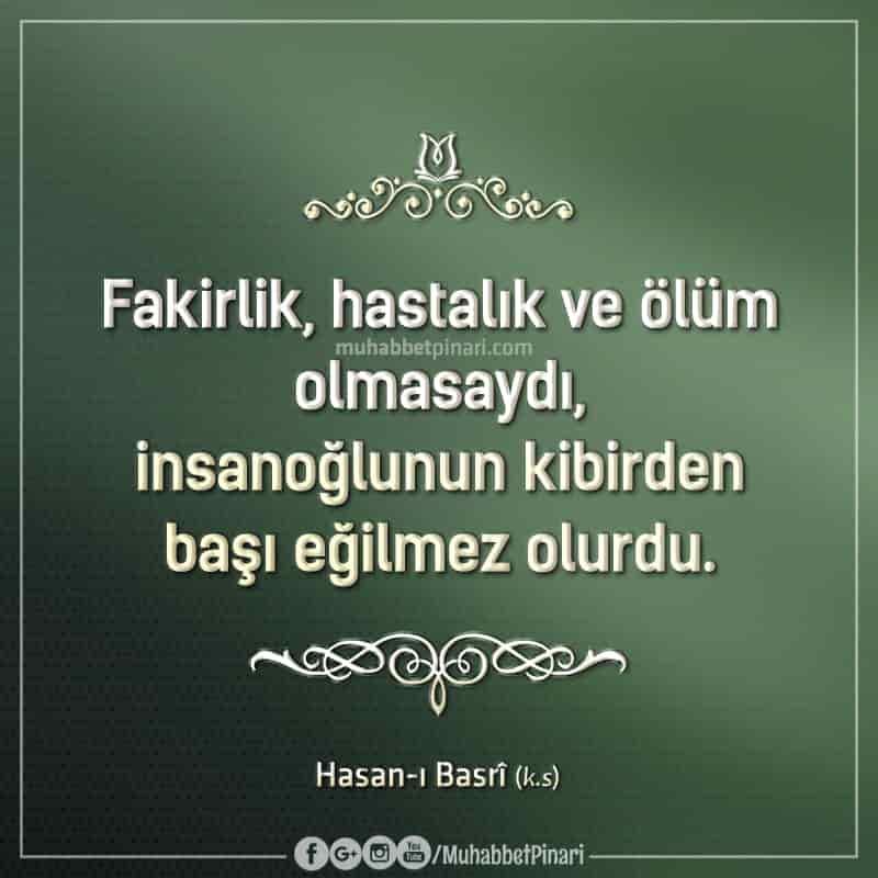 Hasan-ı Basrî'den Hikmetli Sözler