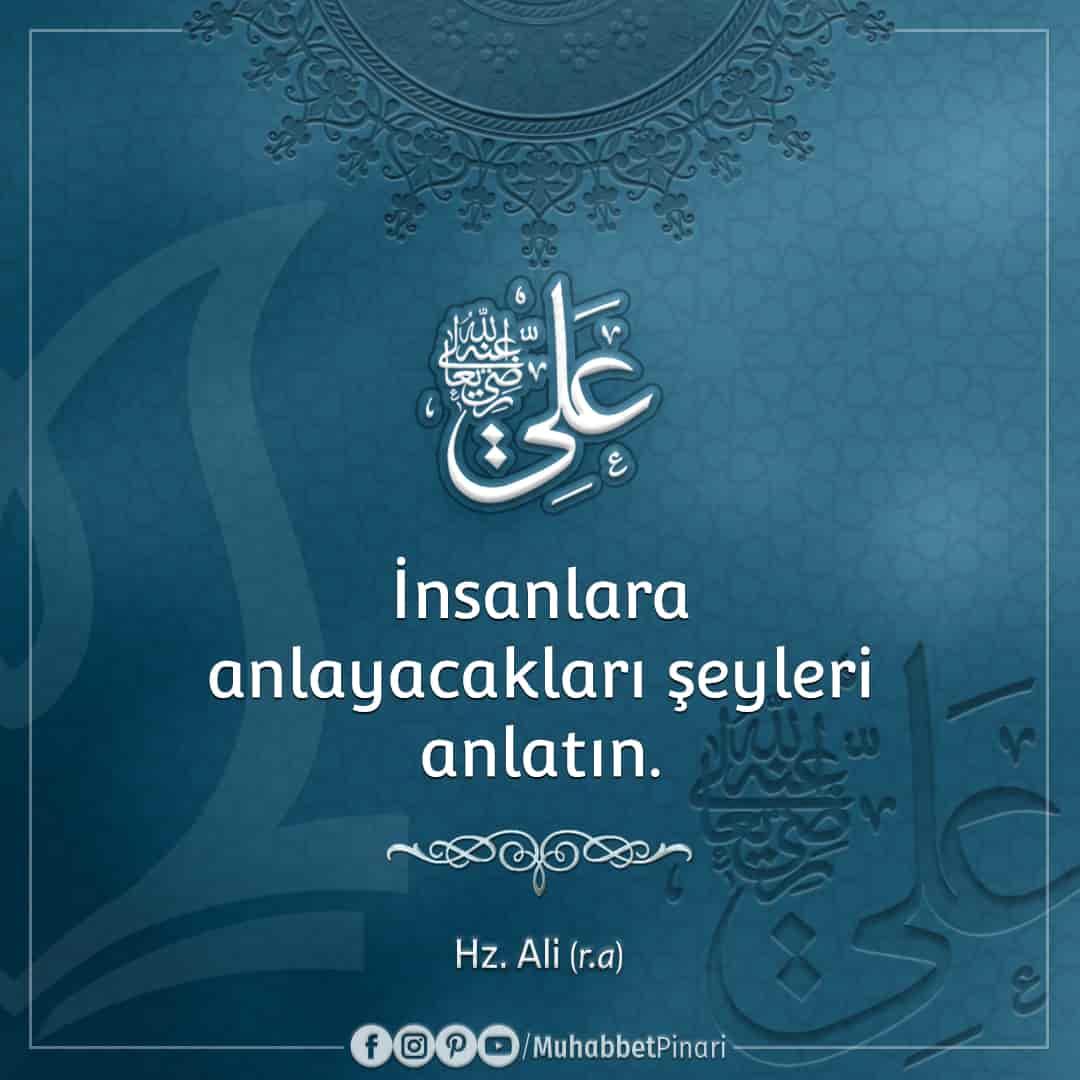 Hz. Ali'den -radıyallahu anh- Hikmetli Sözler