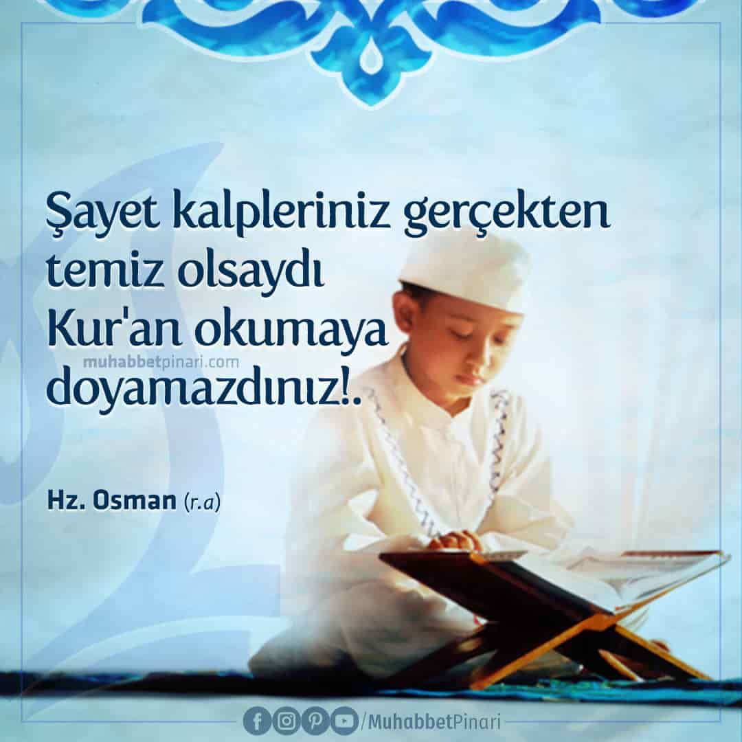Hz. Osman'dan -radıyallahu anh- Hikmetli Sözler