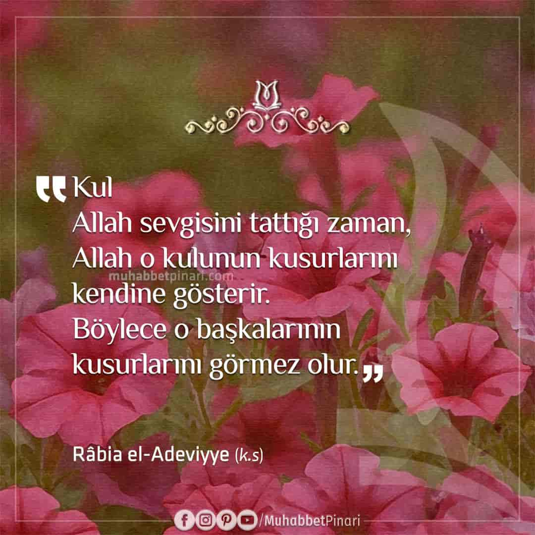 râbia el-adeviyye sözleri